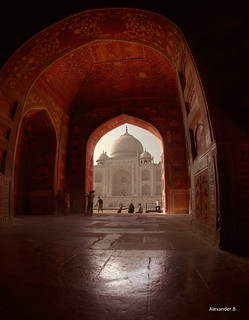 Taj Mahal from the Red Room | by @Alebi