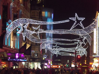 Prince of Wales Theatre - Coventry Street, London - Mamma Mia!  - Christmas lights | by ell brown