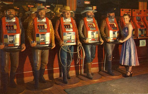 Slot Machines in Nevada | by The Cardboard America Archives
