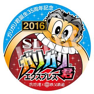 SLガリガリ君エクスプレス2016☆ヘッドマーク