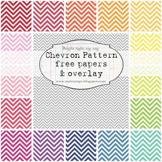 PREVIEW chevron tight zig zag bright melstampz | by melstampz