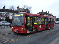Sullivan Buses at Arnos Grove