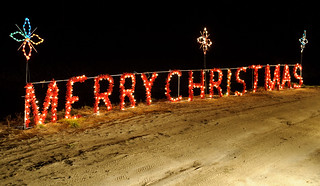 Merry Christmas Lights / Eric Kilby, via Flickr