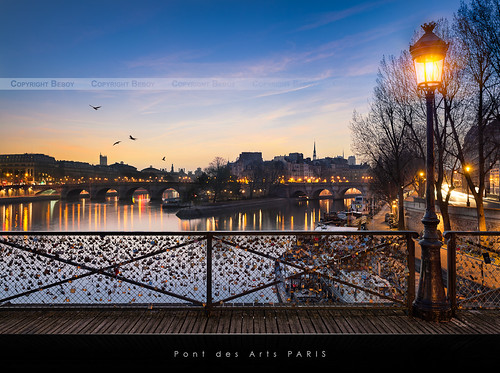 Pont des Arts, Paris / EXPLORED #3 / | by Beboy_photographies