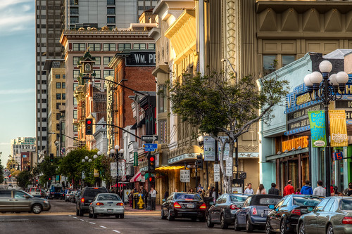 Gaslamp 5th Avenue | by Justin in SD