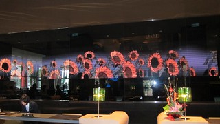Hsinchu Hotel Sheraton - flowers at check in | by Khronos Group