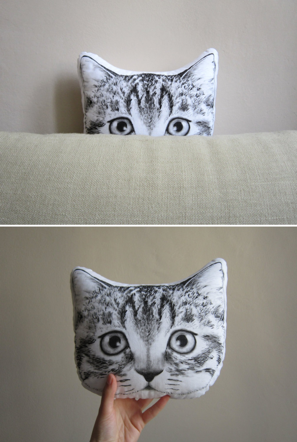 MosMea - handpainted pillows