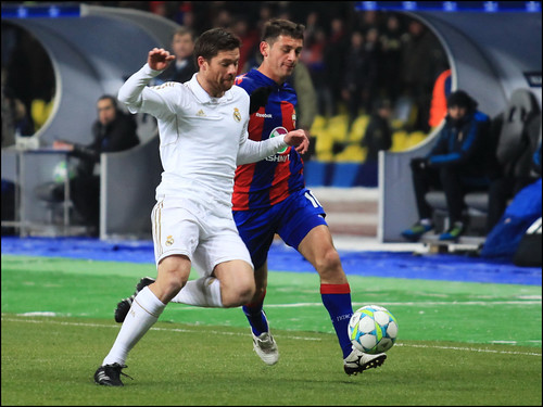 CSKA Moscow vs Real Madrid (1:1) | by Kate_Lokteva