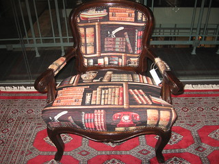 Dave Hirt library chair | by Numismatic Bibliomania Society