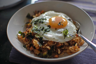 Leftover Bo Ssam with Kimchi and Rice and Egg | by su-lin