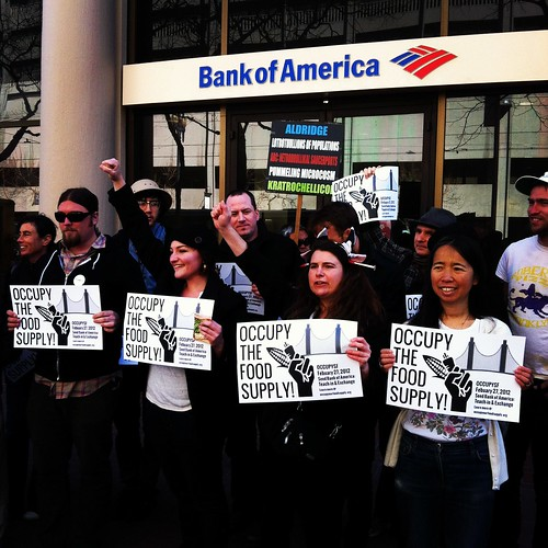 #OccupyOurFoodSupply shuts down #BofA #occupysf #ows #oo | by Steve Rhodes