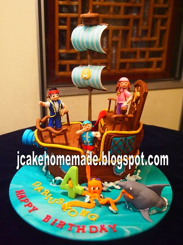 Jake and the neverland pirates cake | by Jcakehomemade