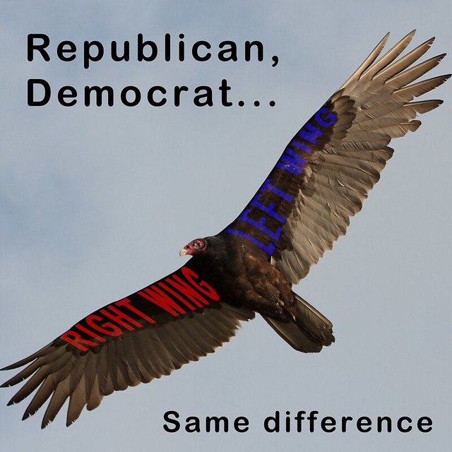 Republican, Democrat...same difference