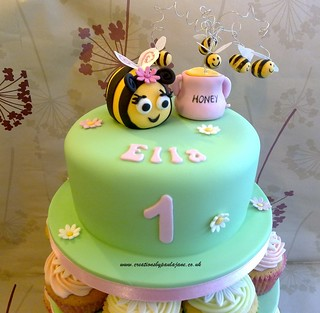 Cake Art Creations By Jane : Bee Cake Flickr - Photo Sharing!