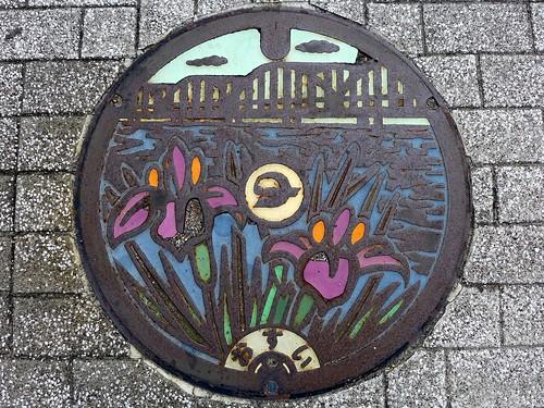 Nagashima Mie, manhole cover (三重県長島町のマンホール)