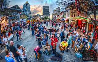 Street Bands Entertaining at 2012 SXSW; Austin Texas | by John R Rogers