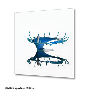 Blue Cream Crown #7540 | ©2012 - www.liquids-in-motion.com | by Liquids-in-Motion