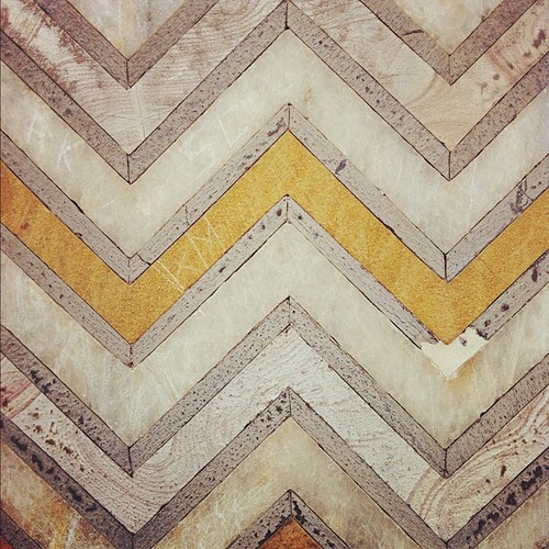 Beautiful chevron design on the Taj Mahal | by thegreenfrogstudio