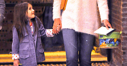 Suri Cruise Out To Dinner In Her Pajamas – So Cute!!! | by ForFashionTV