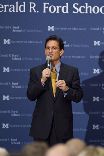 Lecture By Congressman Eric Cantor Lecture By