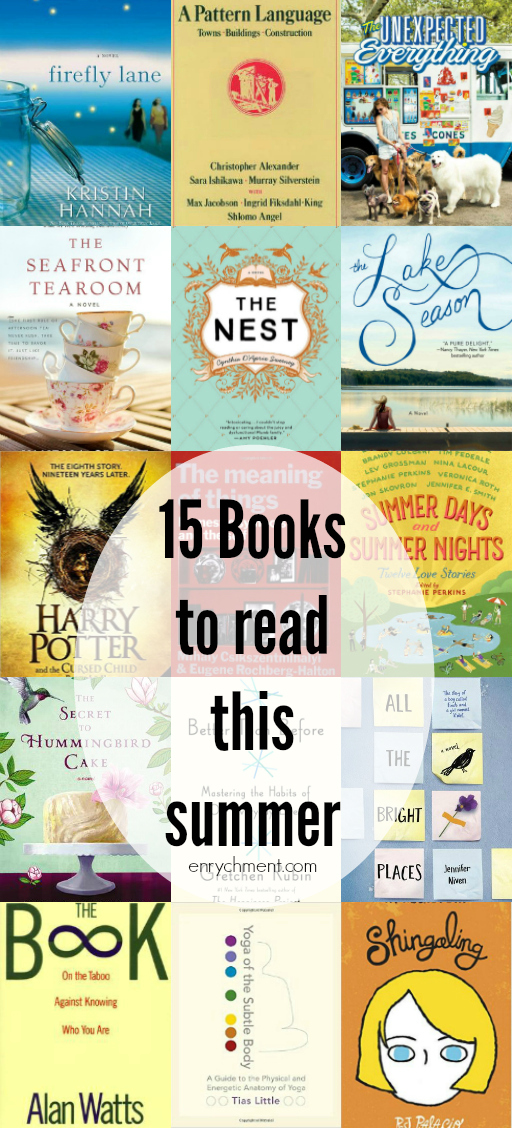 15 Summery Books to Read on Vacation in 2016