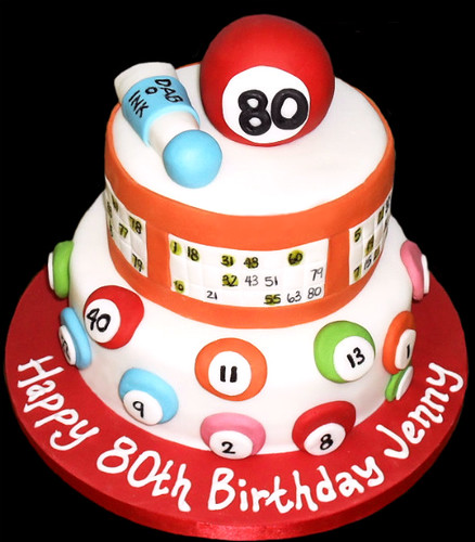 Bingo Birthday Cake  Flickr - Photo Sharing!