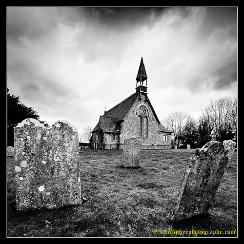 CHURCH OF ST. PETER ON THE GREEN, FROXFIELD. 2 | by adriangeephotography