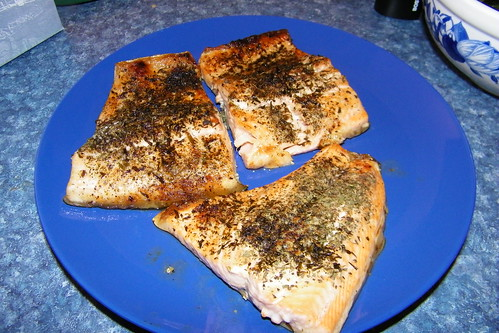 Herb-Broiled Ruby Red Trout | by cseeman