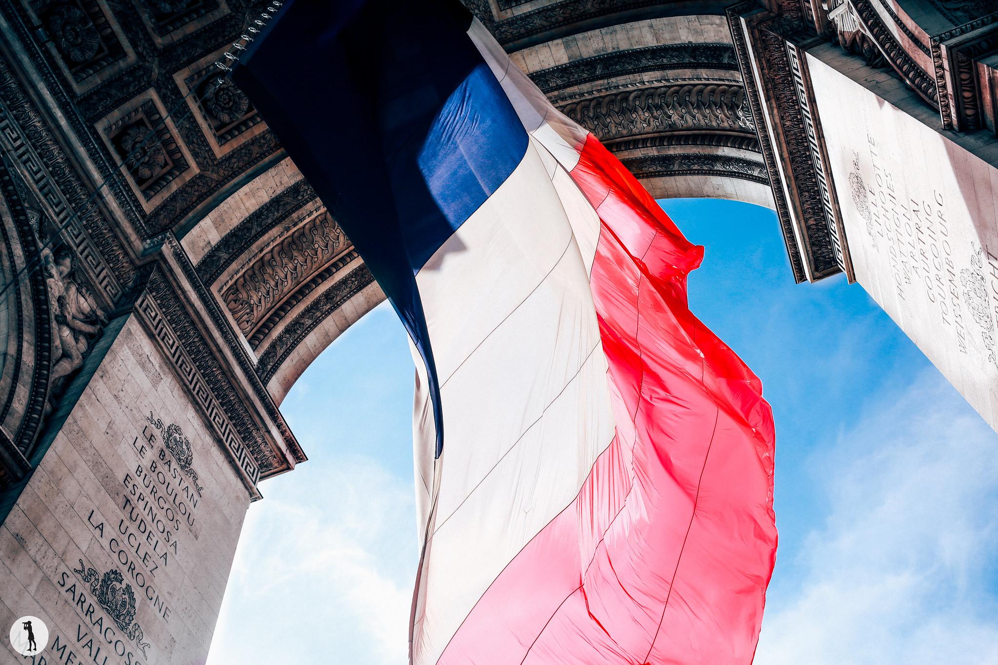 8 Mai, Arc de Triomphe