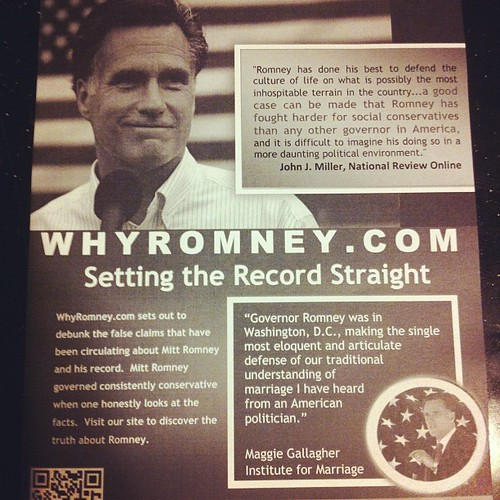 Mitt Romney can't hate gays to hard for some folks at CPAC. | by TerranceDC
