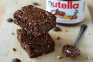 Nutella Brownies | by Completely Delicious