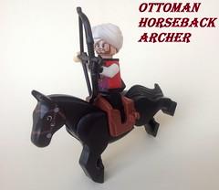 Ottoman Horseback Archer (Action Shot)