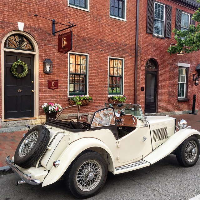 Vintage Car in Portsmouth, NH