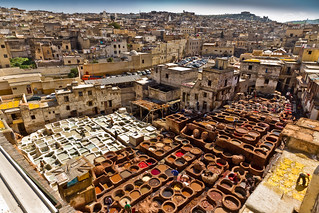 Chouara Tannery Overview | by Beum Gallery