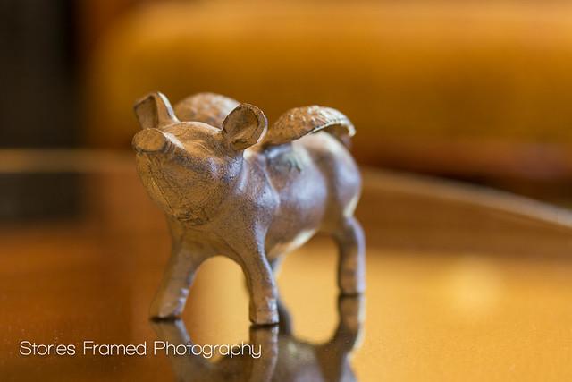 288. | mascot pig.