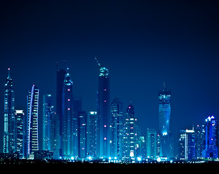 Dubai skyline | by miemo