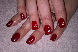 4 simple and easy nail art designs red nail ideas for beg