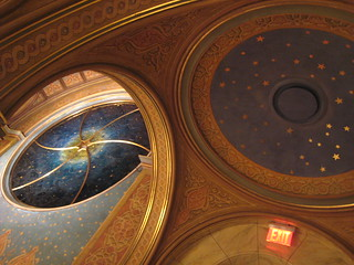 Starry window, starry dome of the Women's Gallery | by KLGreenNYC