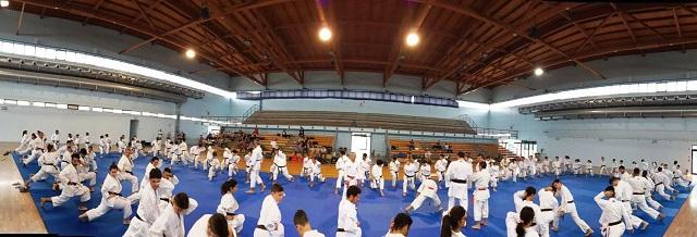 Noicattaro. Esami di graduazione karate intero2