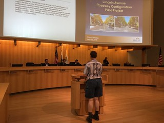 John Plocher speaking to San Jose Mayor and City Council 28 June 2016