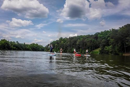 Kayaking and SUP on Saluda Lake-36