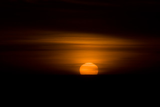 Venus Transit at Sunset | by AGrinberg