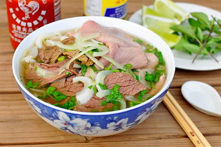 Pho Bo - Vietnamese Beef Noodle Soup | by Cathy Chaplin | GastronomyBlog.com