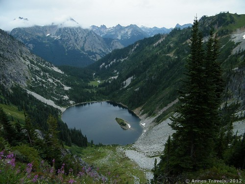 Lake Ann from the Maple Pass Loop, North Cascades National Park, Washington