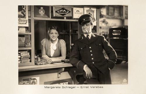Margarete Schlegel and Ernst Verebes in Das blaue vom Himmel (1932)