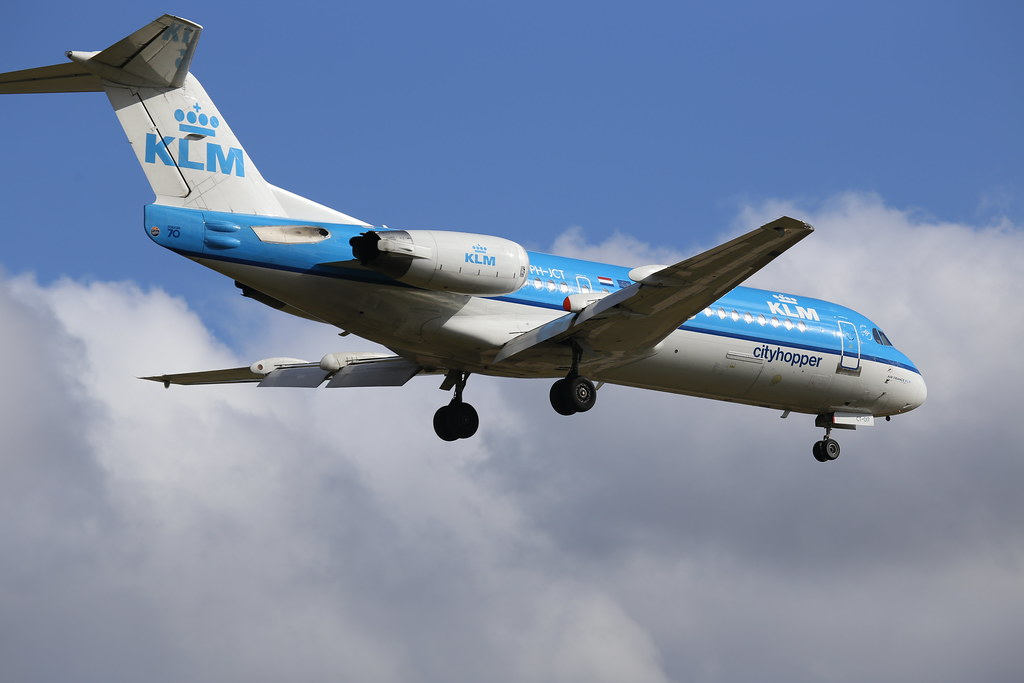 Fokker 70 - PH-JCT in BHX