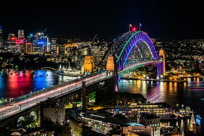 Vivid Sydney 2016_Sydney Harbour Bridge_CREDIT Destination NSW_KM-5698-6602