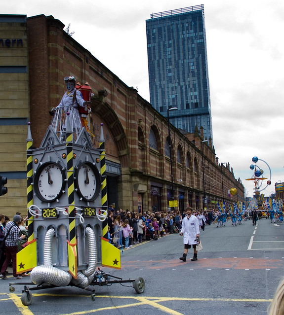 Manchester Day parade 2016