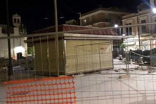 Noicattaro. Edicola della piazza front