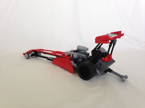 LEGO Top fuel dragster